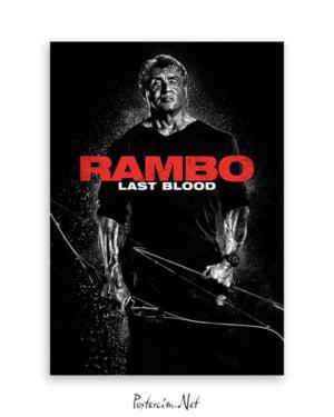 Rambo: Last Blood afişi