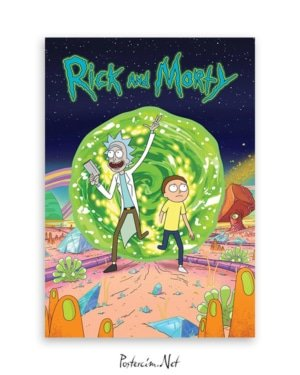Ricky And Morty afişi - 2