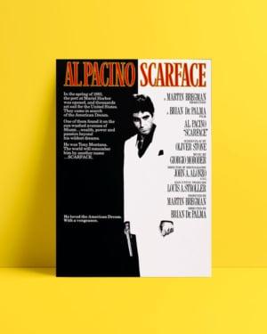 Yaralı Yüz 1983 afiş