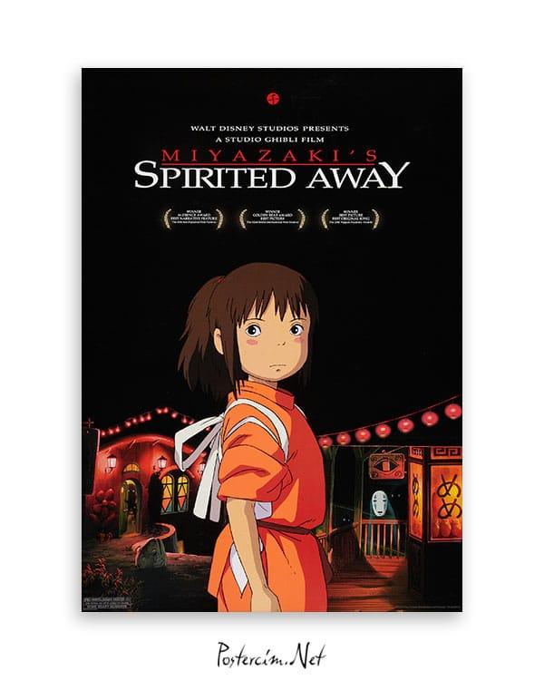 Spirited Away Ruhların Kaçışı afişi