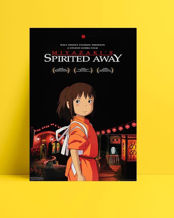 Spirited Away Ruhların Kaçışı posteri