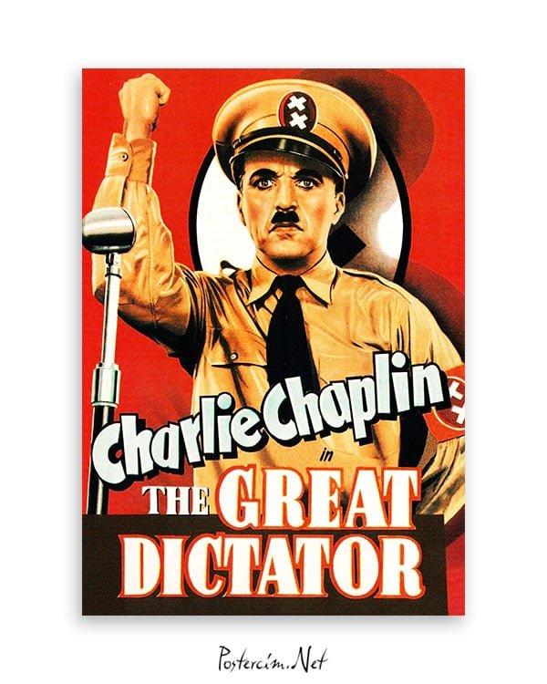 The Great Dictator film afişi Büyük Diktatör film afişi