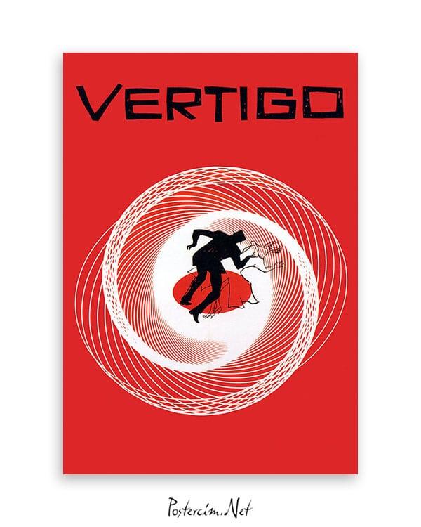 vertigo film afişi
