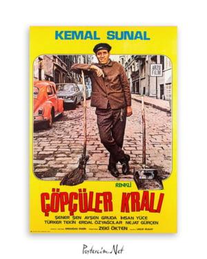 Çöpçüler Kralı film afişi, yeşilçam film afişleri