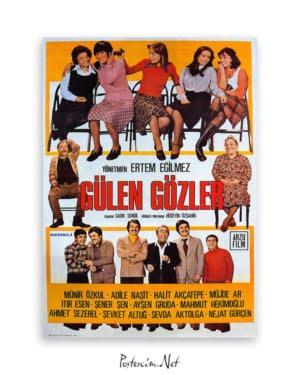 Gülen Gözler film afişi, yeşilçam film posteri