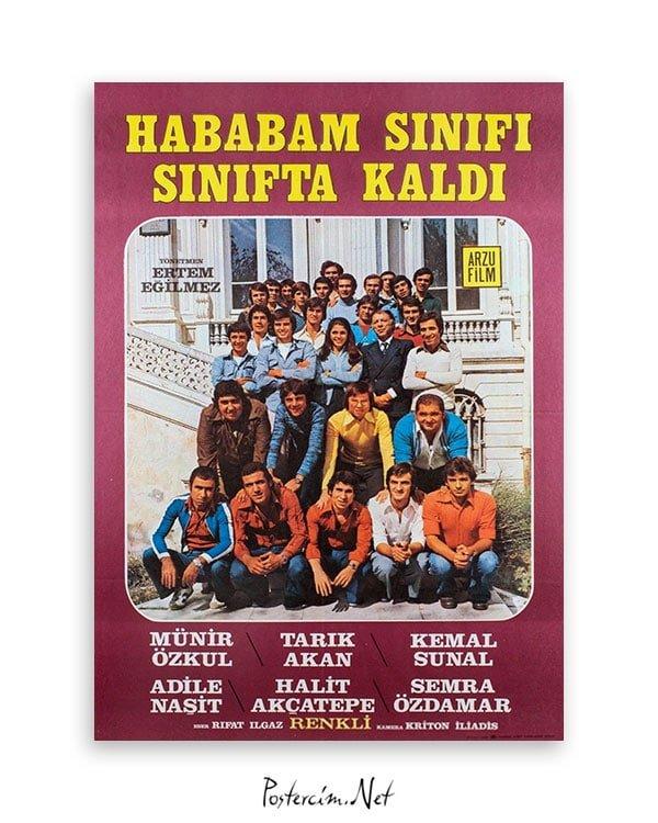 Hababam Sınıfı Sınıfta Kaldı film afişi