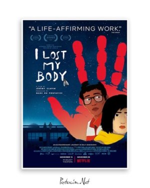 I Lost My Body posteri film afişi