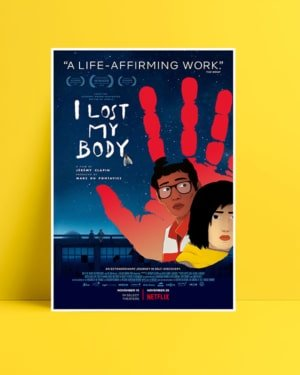 I Lost My Body posteri