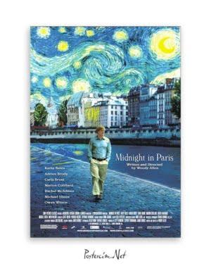 Paris'te Gece Yarısı afişi