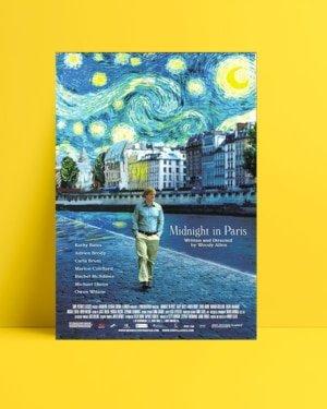 Paris'te Gece Yarısı posteri