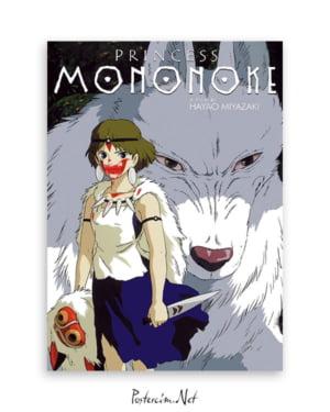 Princess Mononoke afişi