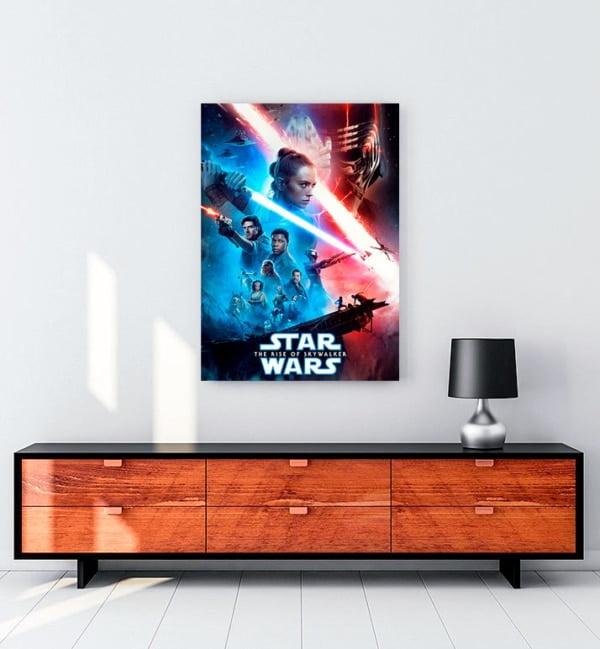 Star Wars: Skywalker'in Yükselisi kanvas tablo