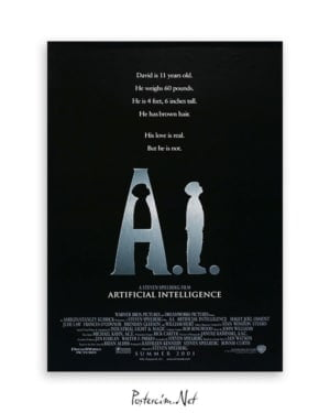 A.I. Artificial Intelligence film afişi