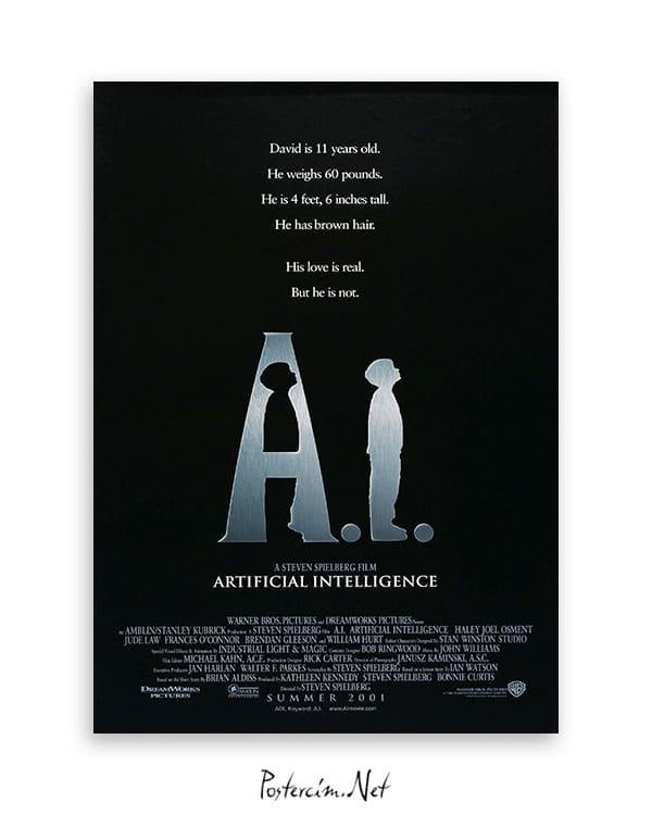 A.I. Artificial Intelligence film afişi