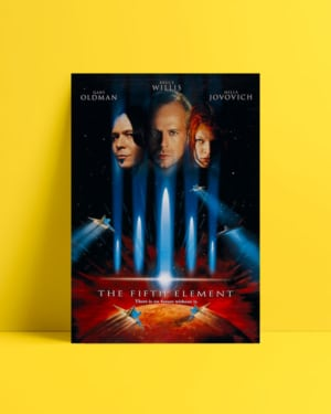 The Fifth Element afiş