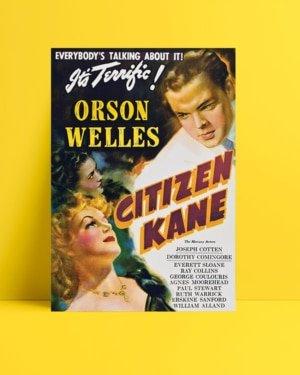 Citizen Kane film posteri