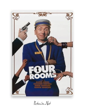 four rooms film afişi
