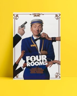 four rooms film posteri
