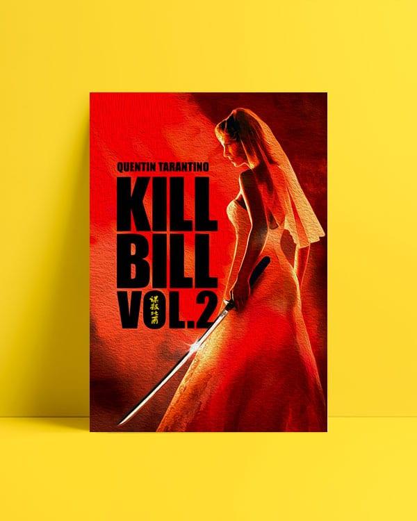Kill Bill Vol 2 afisi