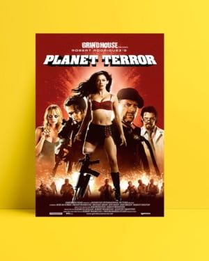 Planet Terror film posteri