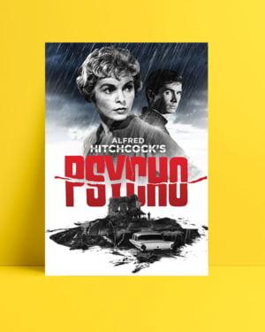 Psycho film posteri