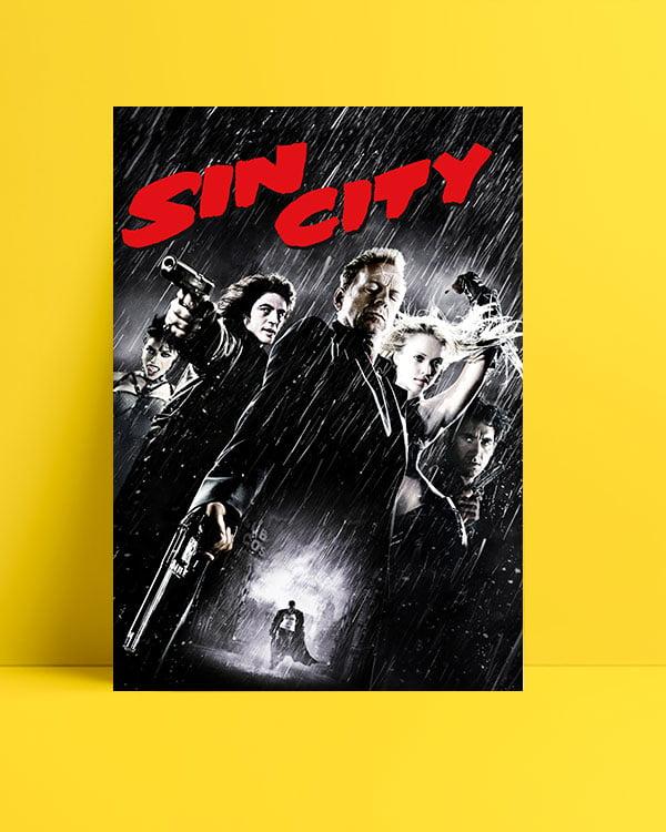 Sin City film posteri