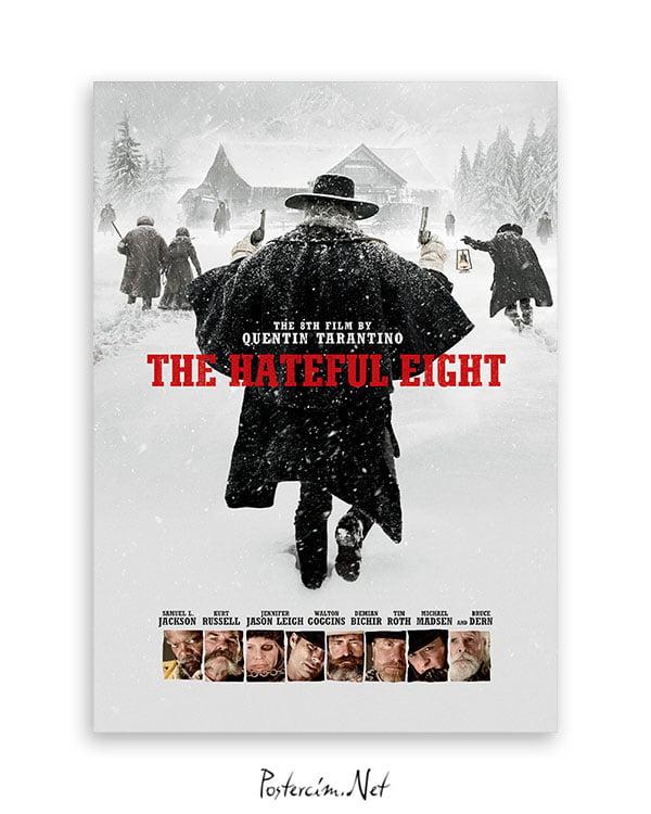 The Hateful Eight film afişi
