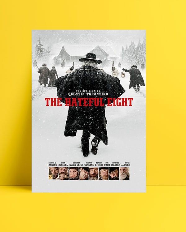 The Hateful Eight film posteri