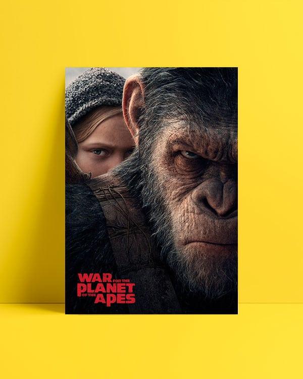 Maymunlar Cehennemi: Savaş afiş