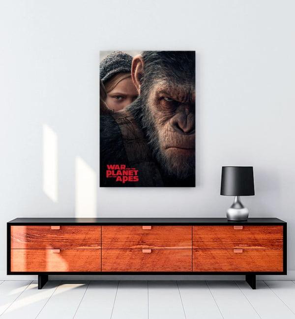 Maymunlar Cehennemi: Savaş kanvas tablo
