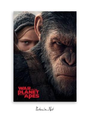 Maymunlar Cehennemi: Savaş poster