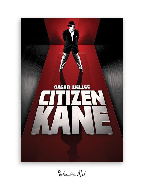 Yurttaş Kane film afişi