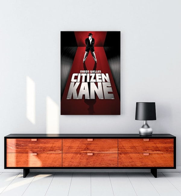 Yurttaş Kane film kanvas tablo