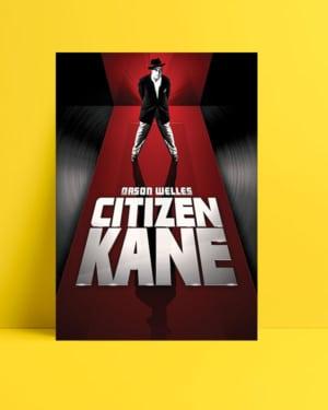 Yurttaş Kane film posteri