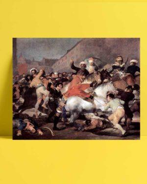 Francisco Goya - 2 Mayıs 1808 afişi