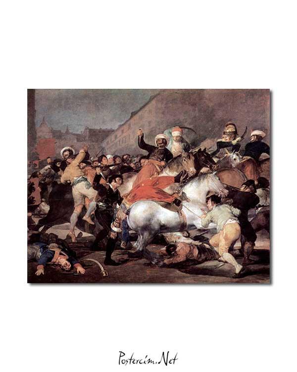 Francisco Goya - 2 Mayıs 1808 posteri