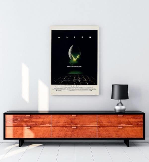 Alien kanvas tablo