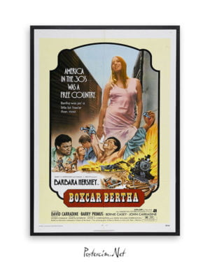 Boxcar Bertha afiş