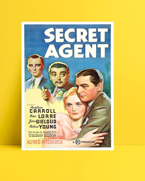 Secret Agent poster