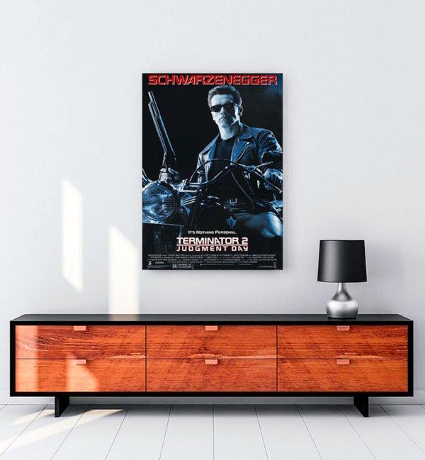 Terminator 2: Judgment Day kanvas tablo