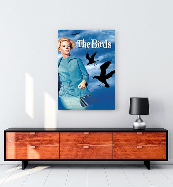 The Birds kanvas tablo