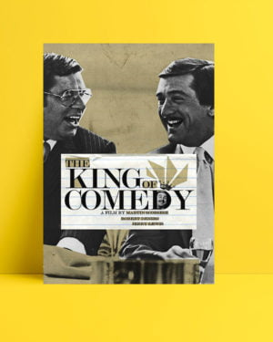 The King of Comedy poster