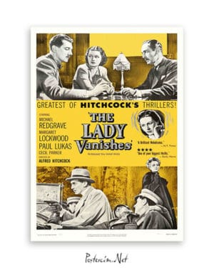 The Lady Vanishes afiş