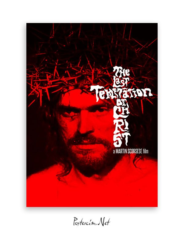 The Last Temptation of Christ afiş