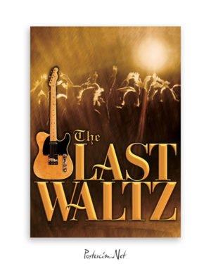 The Last Waltz afiş