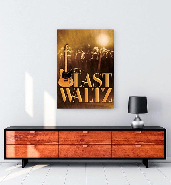 The Last Waltz kanvas tablo