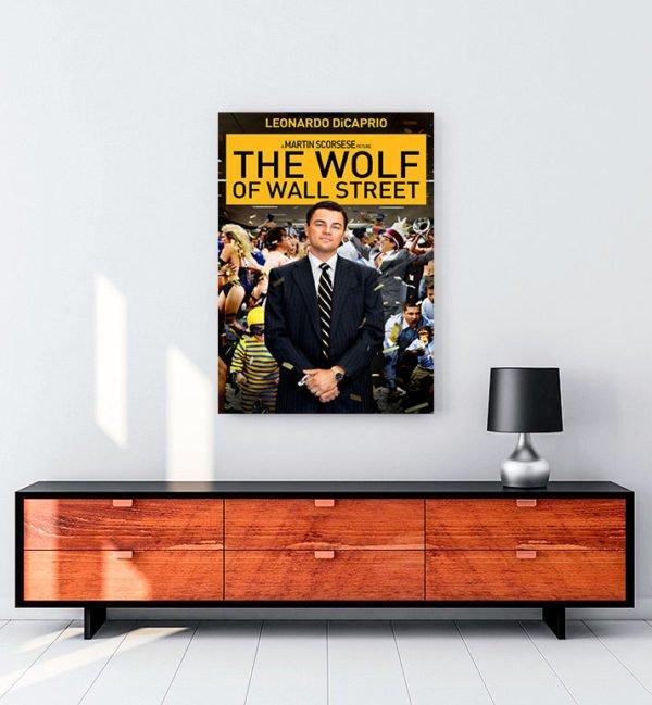The Wolf of Wall Street kanvas tablo