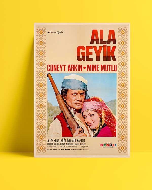 Ala Geyik film afişi