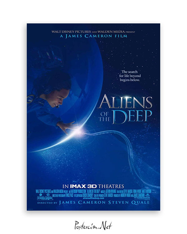 Aliens of the Deep afiş