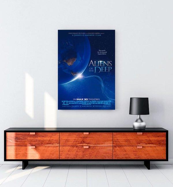 Aliens of the Deep kanvas tablo